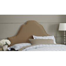 Shantung High Arch Upholstered Headboard