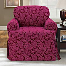 Scroll Classic Fit Chair Slipcover