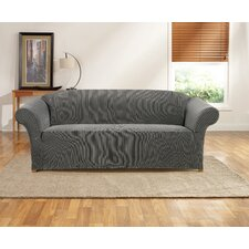 Ribbon Stripe Sofa Skirted Slipcover