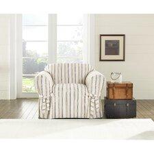Harbor Stripe Sofa Slipcover
