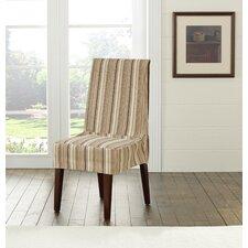 Harbor Stripe Dining Chair Slipcover