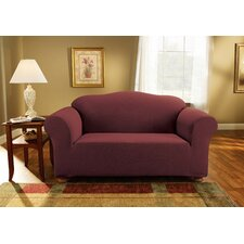 Simple Stretch Subway Loveseat Slipcover
