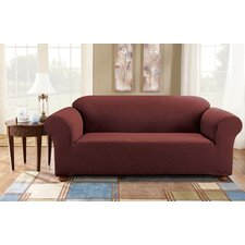 Simple Stretch Subway Sofa Box Cushion Slipcover