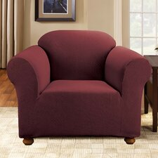 Simple Stretch Subway Armchair Slipcover