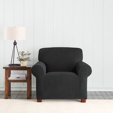Stretch Pixel Armchair Slipcover