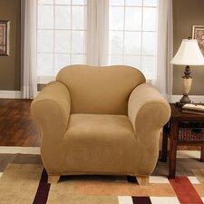 Stretch Pique Armchair Slipcover