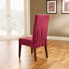 Soft Suede Dining Chair Slipcover