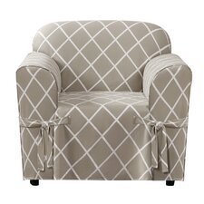 Lattice Armchair Slipcover