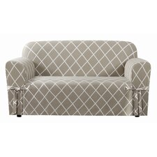 Lattice Loveseat Slipcover