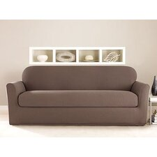 Stretch Twill Sofa Slipcover (Set of 2)