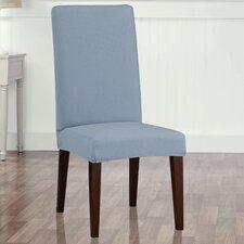 Stretch Seersucker Dining Chair Slipcover