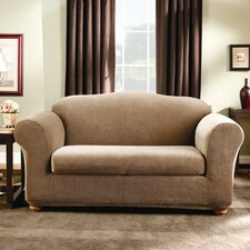 Stretch Stripe Sofa Slipcover