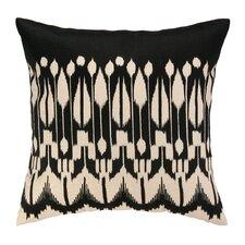 Lomita Embroidered Linen Throw Pillow
