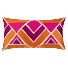 Los Altos Embroidered Linen Lumbar Pillow