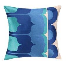 Delano Embroidered Linen Throw Pillow