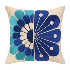 Windsor Embroidered Linen Throw Pillow