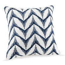Hollyhock Cotton Throw Pillow