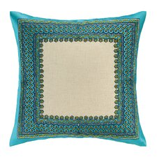 Terranea Embroidered Linen Throw Pillow