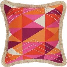 Colfax Embroidered Linen Throw Pillow
