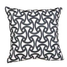 Santorini 100% Cotton Throw Pillow