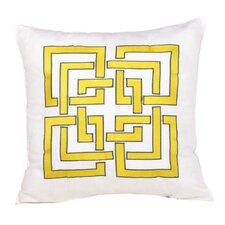 Shanghai Links 100% Cotton Throw Pillow
