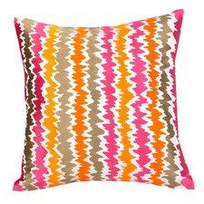Ikat 100% Cotton Throw Pillow