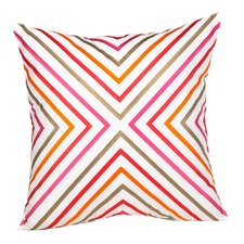 Zig Zag 100% Cotton Throw Pillow