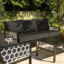 Parkview Cast Deep Seating Sofa with Cushions