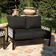 Parkview Cast Deep Seating Loveseat with Cushions