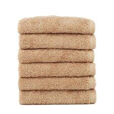 Soft Twist 100% Turkish Cotton Wash Cloth (Set of 6)