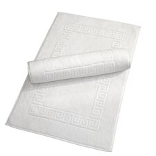 Luxury Hotel and Spa Turkish Cotton Greek Key Bath Mat