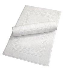 Luxury Hotel and Spa Turkish Cotton Greek Key Bath Mat (Set of 2)
