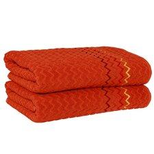 Montauk Zig Zag Bath Towel (Set of 2)