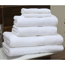 Luxury Hotel & Spa 6 Piece Towel Set