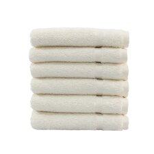 Denzi 6 Piece Washcloth Set (Set of 6)
