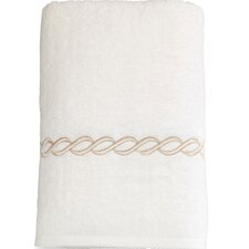 Cadena Embroidered Soft Twist Bath Towel