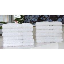Luxury Hotel & Spa 100% Turkish Cotton Wash Cloth (Set of 12)
