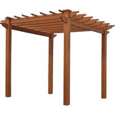 Eden Lakewood 6.5 Ft. W x 6.5 Ft. D Cedar Pergola