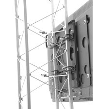 "Large Fixed Truss Pole Mount for 42"" - 71"" Flat Panel Screens"