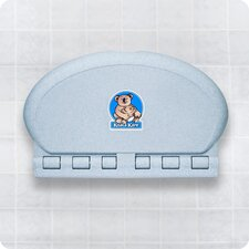 Oval Baby Changing Station Wall Mount