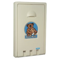 Standard Recessed Vertical Baby Changing Station