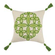 Desert Medallion Linen Throw Pillow