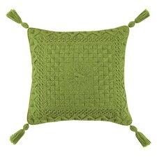 Portola Needlepoint Linen Throw Pillow