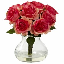 Rose Arrangement in Vase