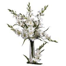 """36"""" Gladiola Floral Arrangements in White (Set of 12)"""