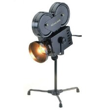 """Projector 14"""" H Table Lamp with Bowl Shade"""