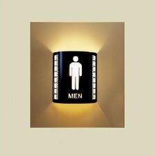 Men's Room Wall Sconce