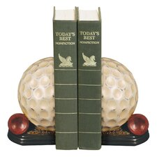 Tee Time Book Ends (Set of 2)