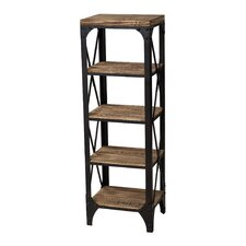 Industrial 45.25'' Standard Bookcase