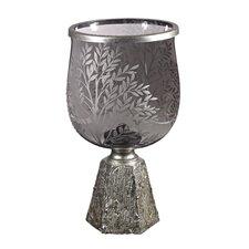Glass Jar Vase with Etching Set